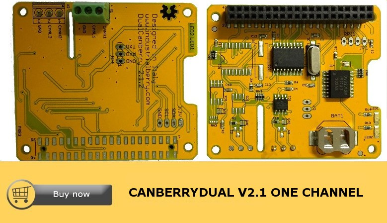 CanberryDual V2.1 One Channel