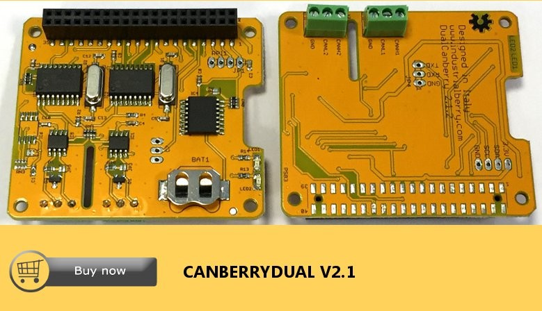 CanberryDual v2.1  Two Channels